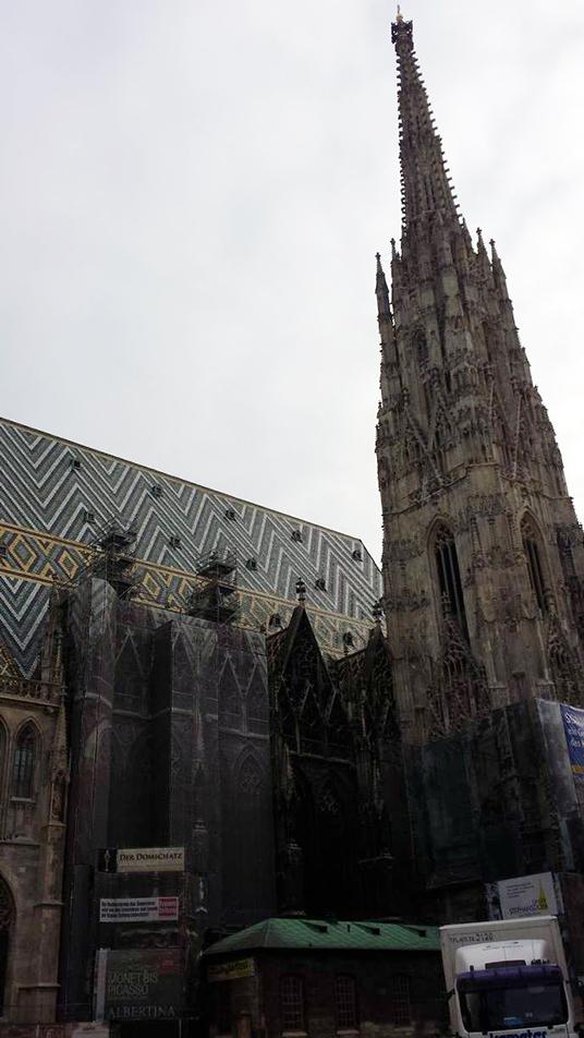 A catedral de Viena, o Stephansdom