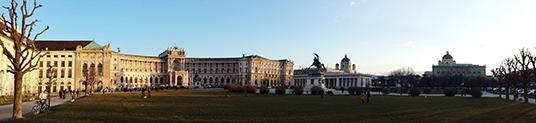 Hofburg, o palácio de inverno dos Habsburgo