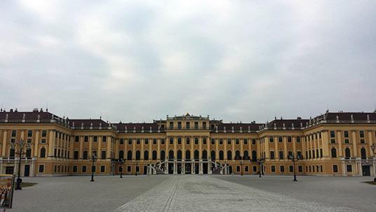 Schonbrunn, o palácio de verão dos Habsburgo